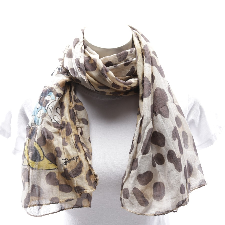 scarf from Plomo o Plata in beige and brown - disney