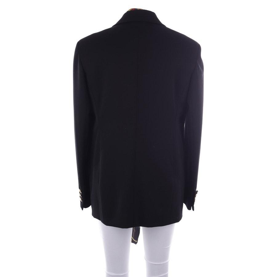 Blazer von Versace in Schwarz und Mehrfarbig Gr. 38 IT 44