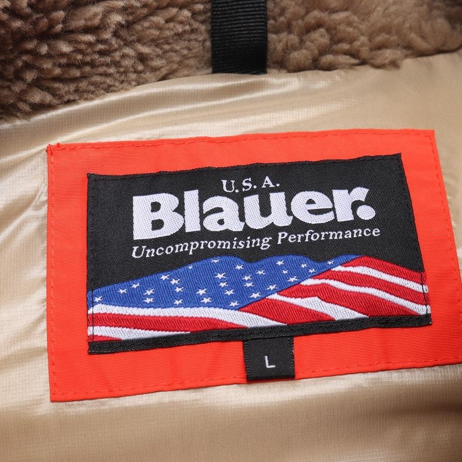 Winterjacke von Blauer USA in Orange und Braun Gr. L - Neu