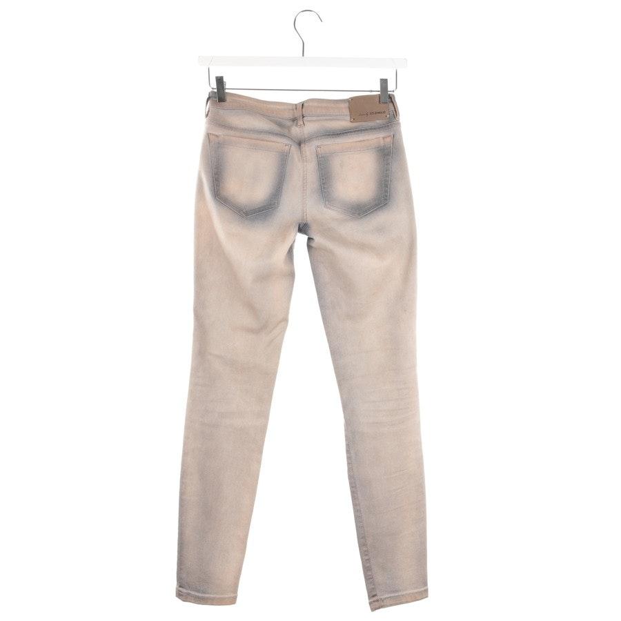 Jeans von St. Emile in Beige und Grau Gr. W27