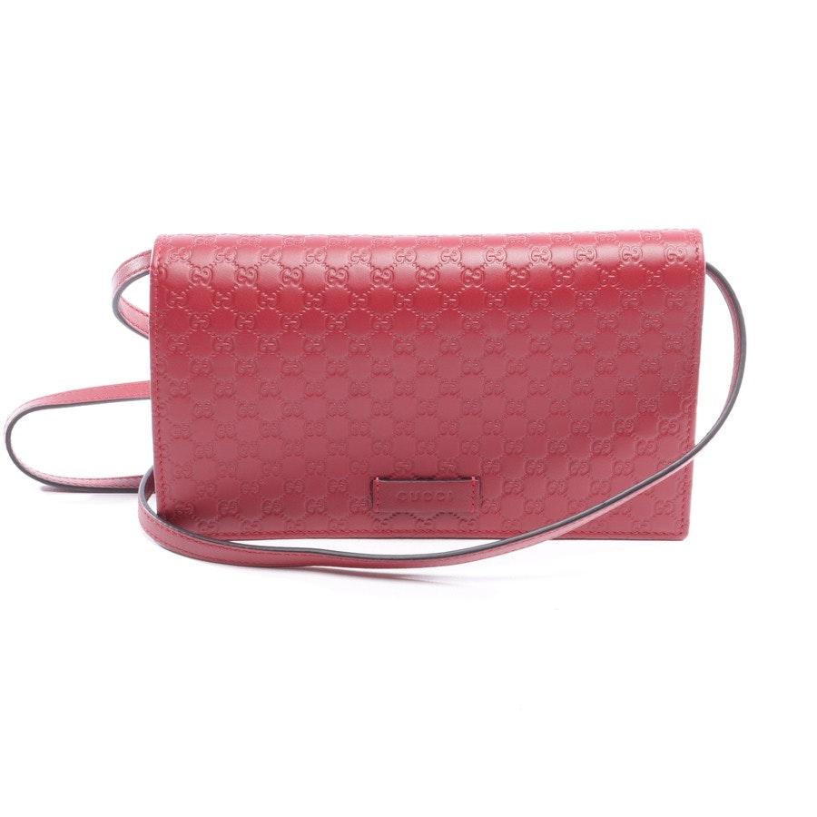 Abendtasche von Gucci in Weinrot - Micro GG Guccissima