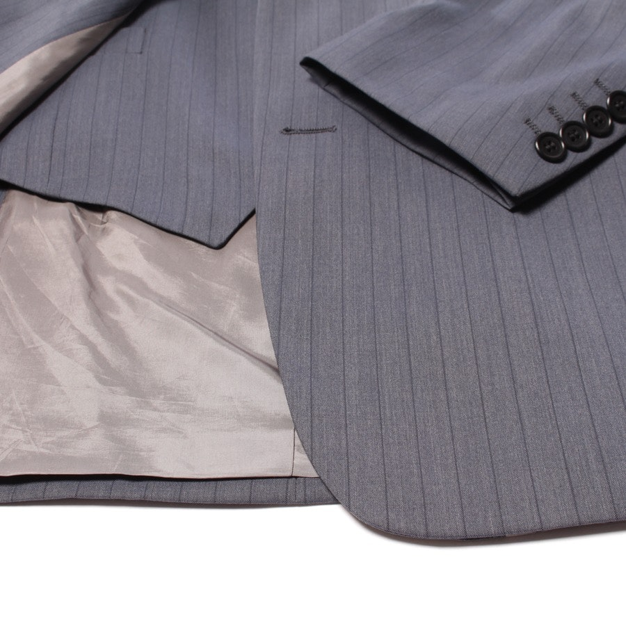 suit from Hugo Boss Black Label in grey and blue size DE 52 - pure new wool