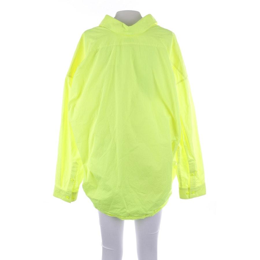 Bluse von Balenciaga in Neon Gelb Gr. 36 FR 38