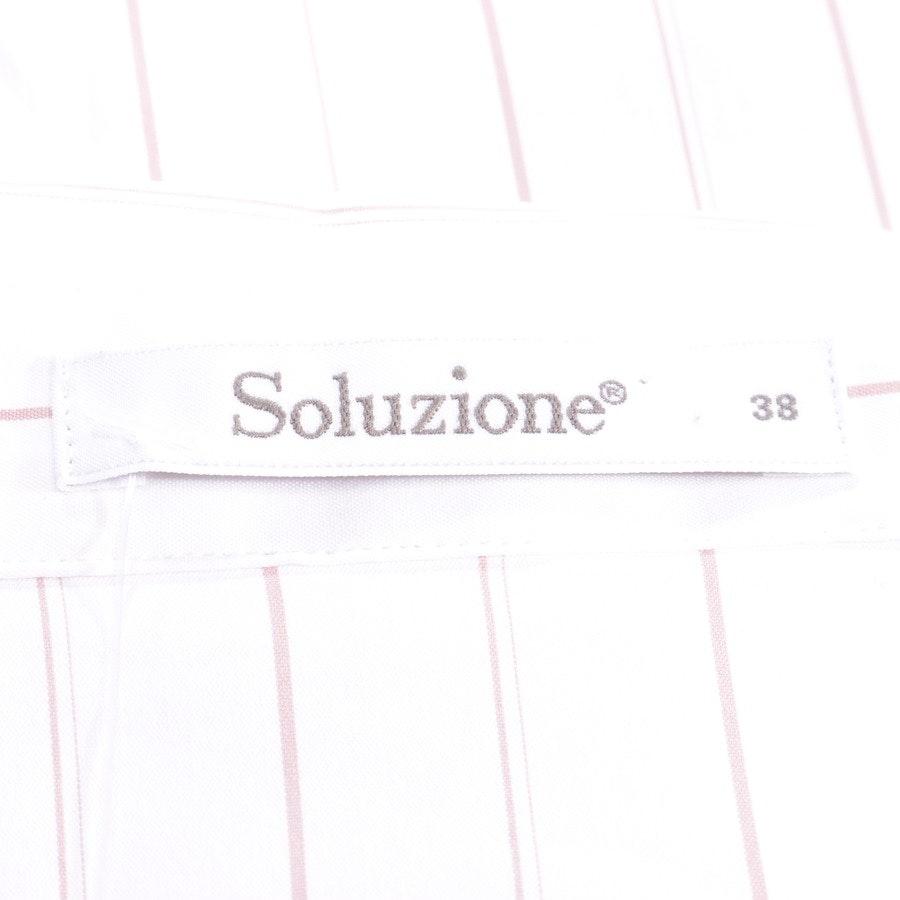 Bluse von Soluzione in Weiß Gr. 32 IT 38