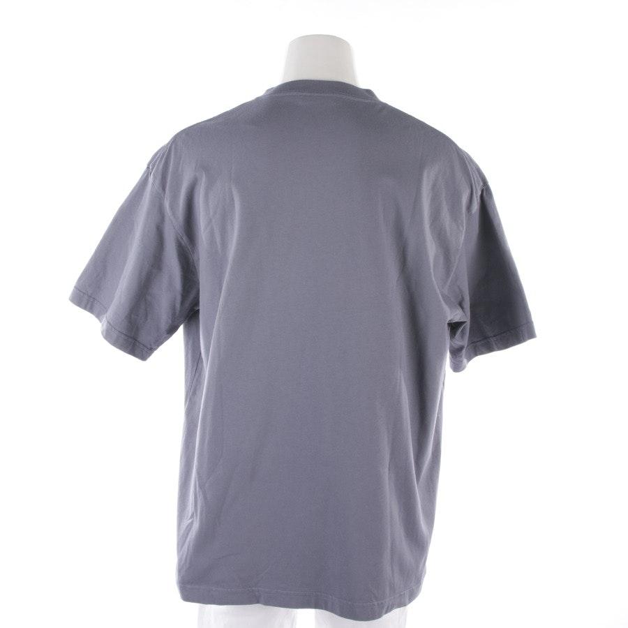 T-Shirt von Balenciaga in Pastellblau Gr. XL