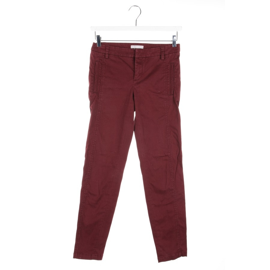 trousers from Stefanel in bordeaux size 34 IT 40