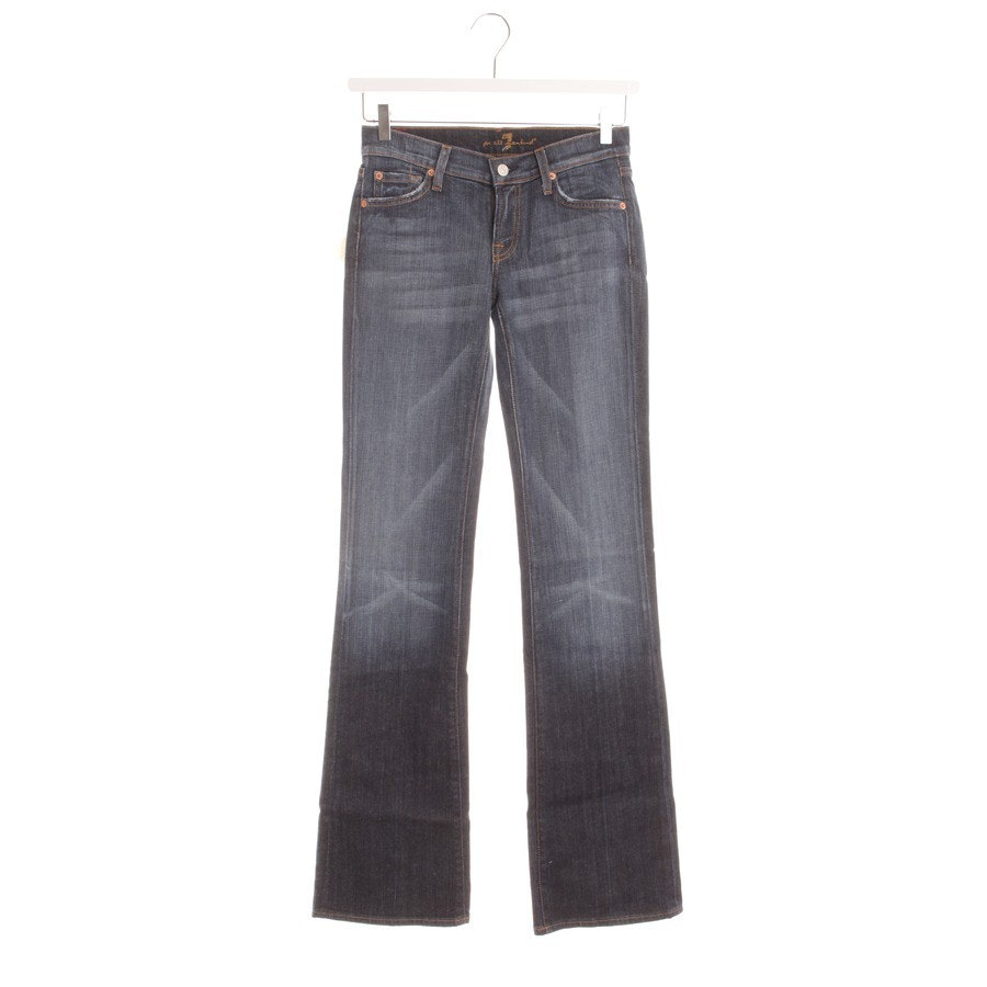 Schlaghose von 7 for all mankind in Blau Gr. W26 - Neu mit Etikett!