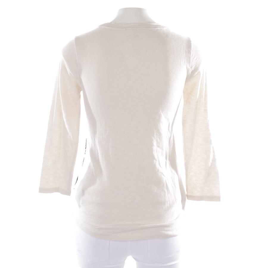 Shirt von J.CREW in Cremeweiß und Schwarz Gr. XS
