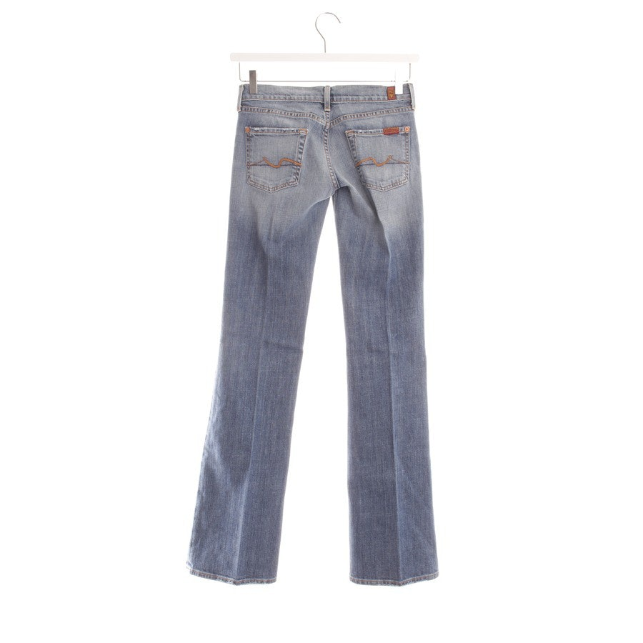 Schlaghose von 7 for all mankind in Jeansblau Gr. W26 - Neu