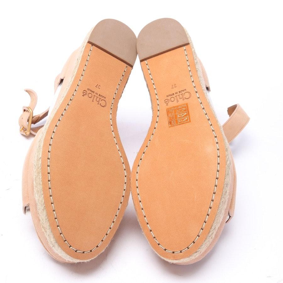 Sandaletten von Chloé in Camel Gr. EUR 37 Neu