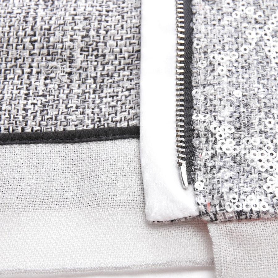 between-seasons jackets from Diane von Furstenberg in heather grey size 32 US 2 - tamali crystal