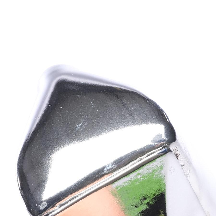Pumps von Balenciaga in Silber Gr. EUR 39,5 Square Knife Neu