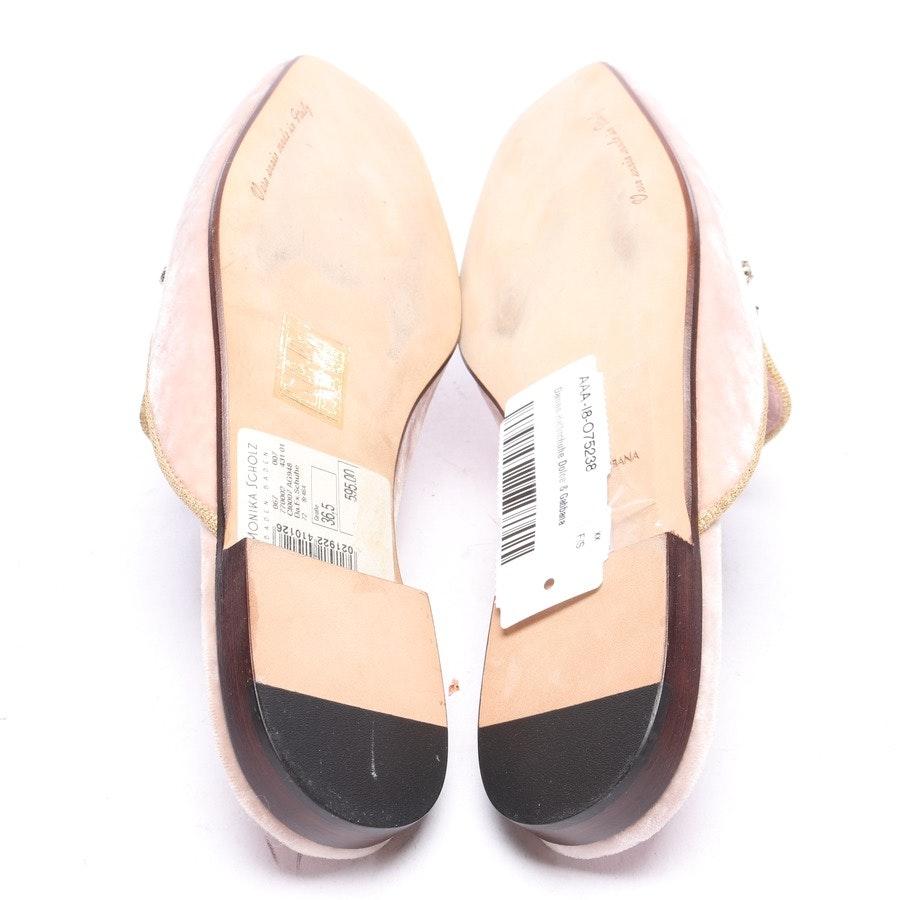 Mules von Dolce & Gabbana in Rosa Gr. EUR 36,5 Neu