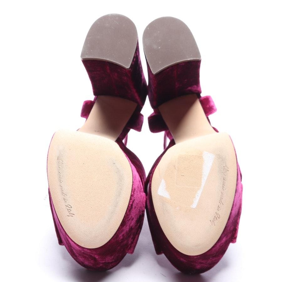Sandaletten von Dolce & Gabbana in Fuchsia Gr. EUR 37 Neu