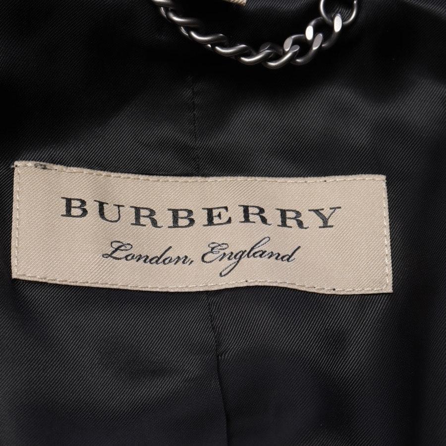 Samtblazer von Burberry in Schwarz Gr. 38 UK 12
