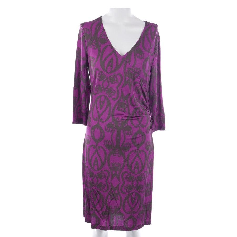 Kleid von St. Emile in Lila und Braun Gr. 38 - Neu