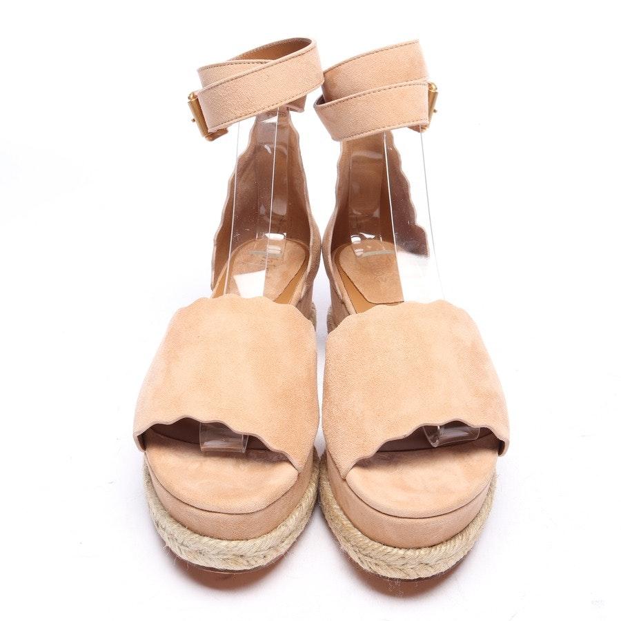 Sandaletten von Chloé in Beige Gr. EUR 36 Espadrilles Neu