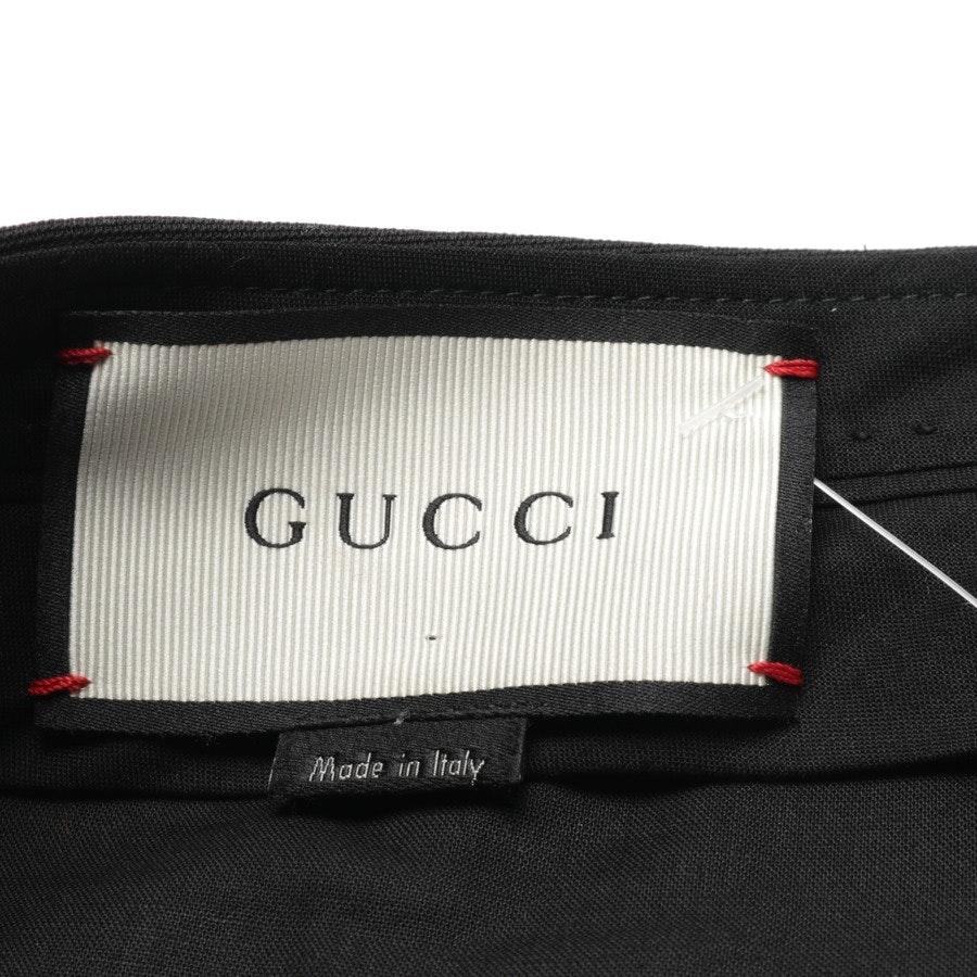 Hose von Gucci in Schwarz Gr. 36 IT 42 Neu