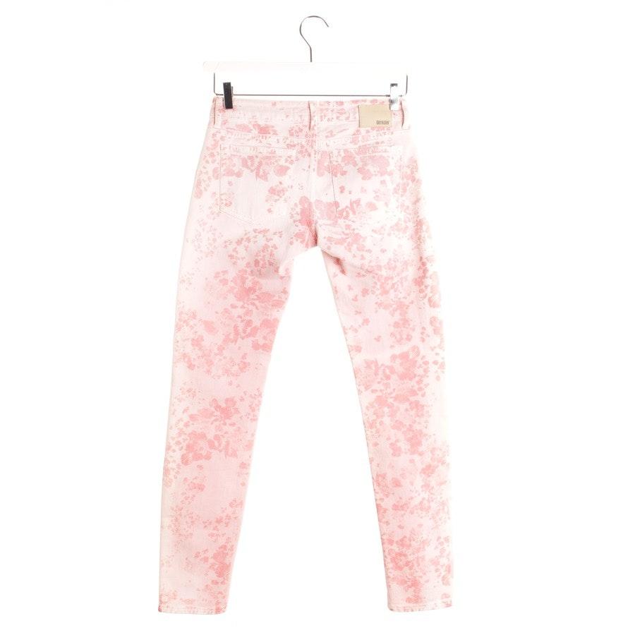 Jeans von Drykorn in Rosa und Weiß Gr. W27