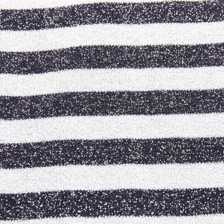 Kleid von Maje in Grau und Schwarz Gr. 36 / 2