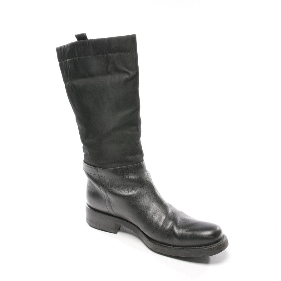 Stiefel von Prada in Schwarz Gr. D 36