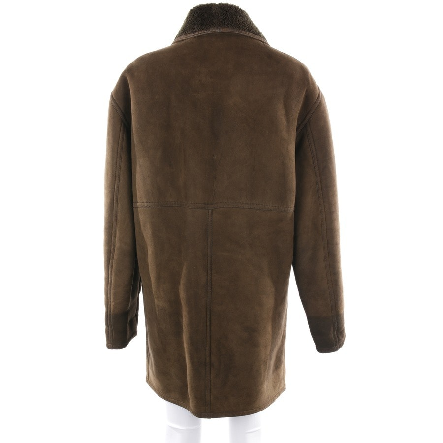leather jacket from Ruffo in green brown size L