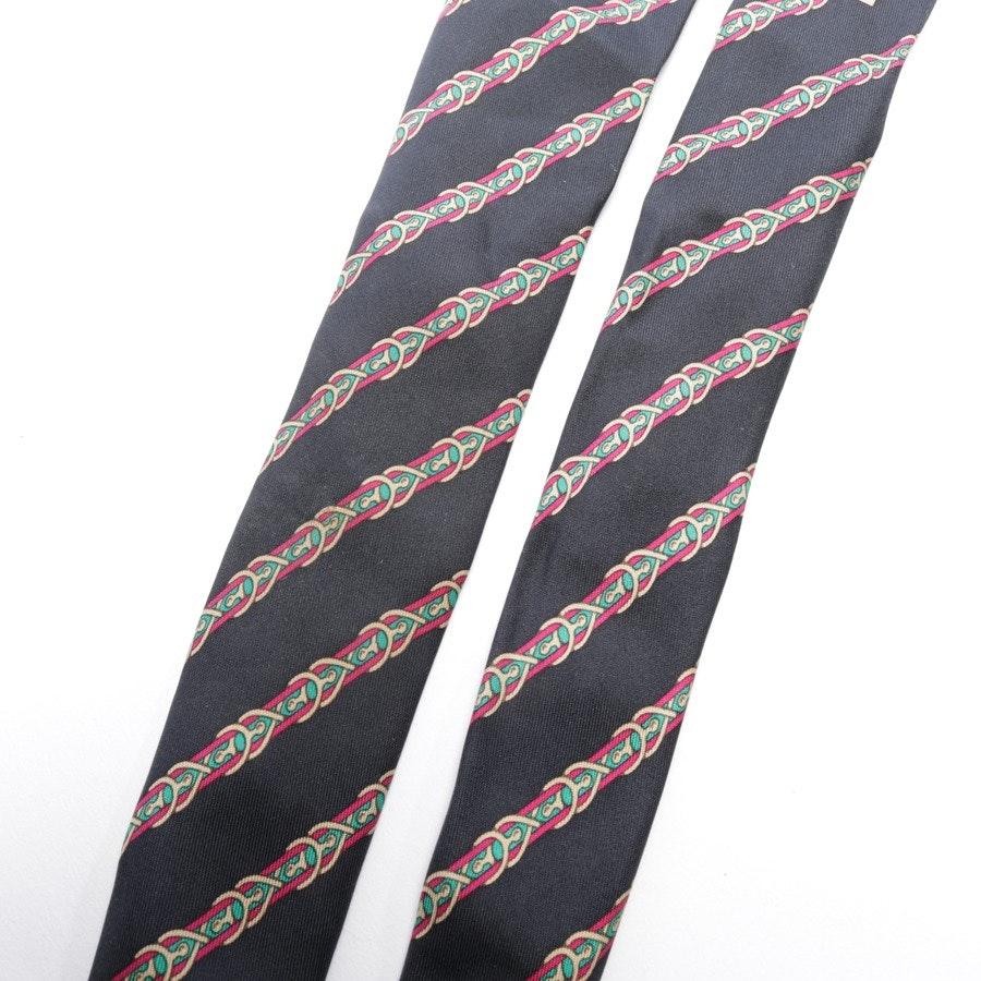 Krawatte von Hermès in Schwarz und Mehrfarbig