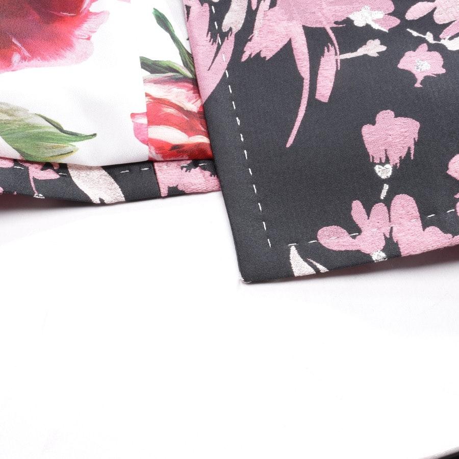 Mantel von Dolce & Gabbana in Schwarz und Rosa Gr. 40 IT 46