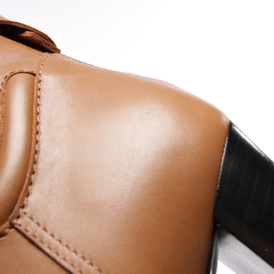 Stiefeletten von Hermès in Cognac Gr. D 41