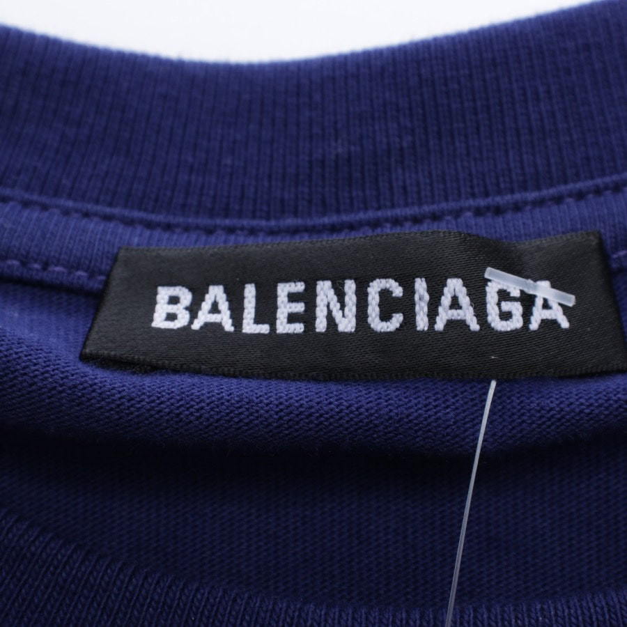 T-Shirt von Balenciaga in Schieferblau Gr. M