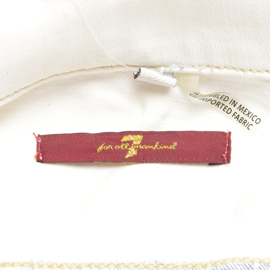 between-seasons jackets from 7 for all mankind in cream white size XS