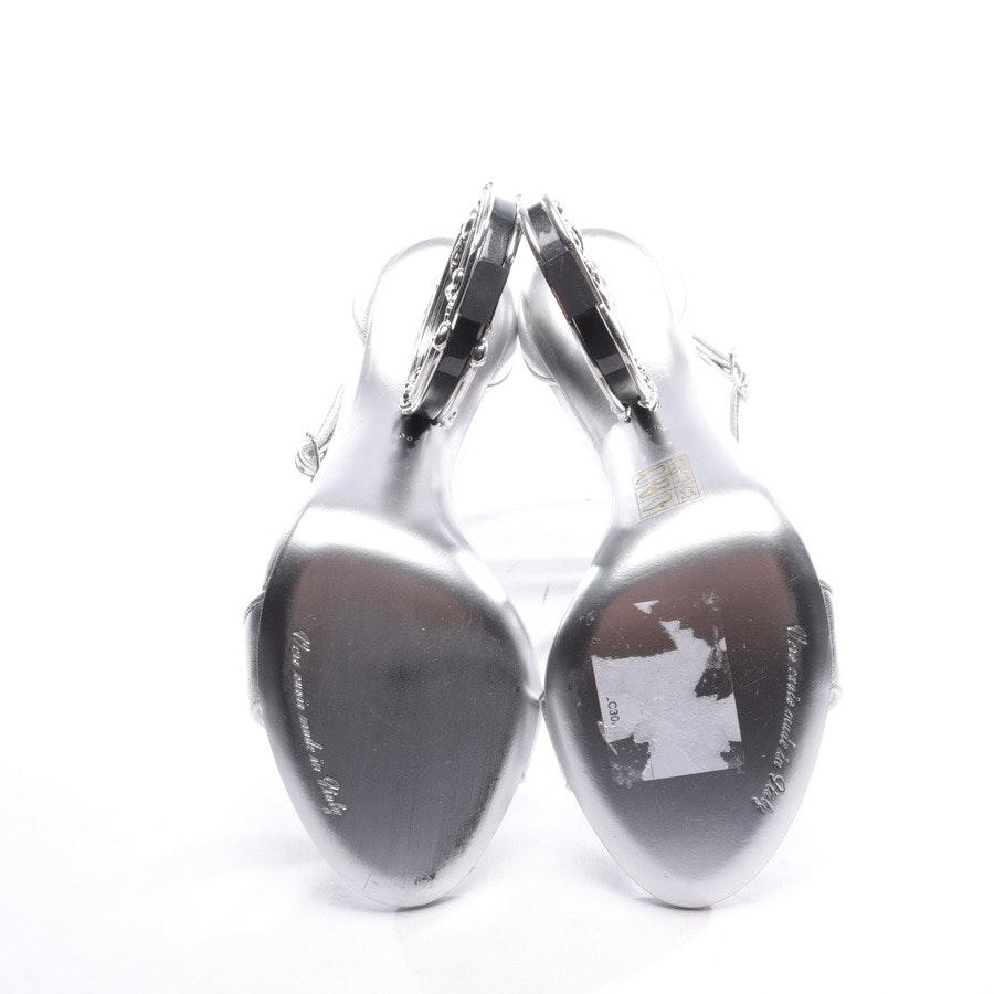 Sandaletten von Dolce & Gabbana in Silber Gr. EUR 38 Neu