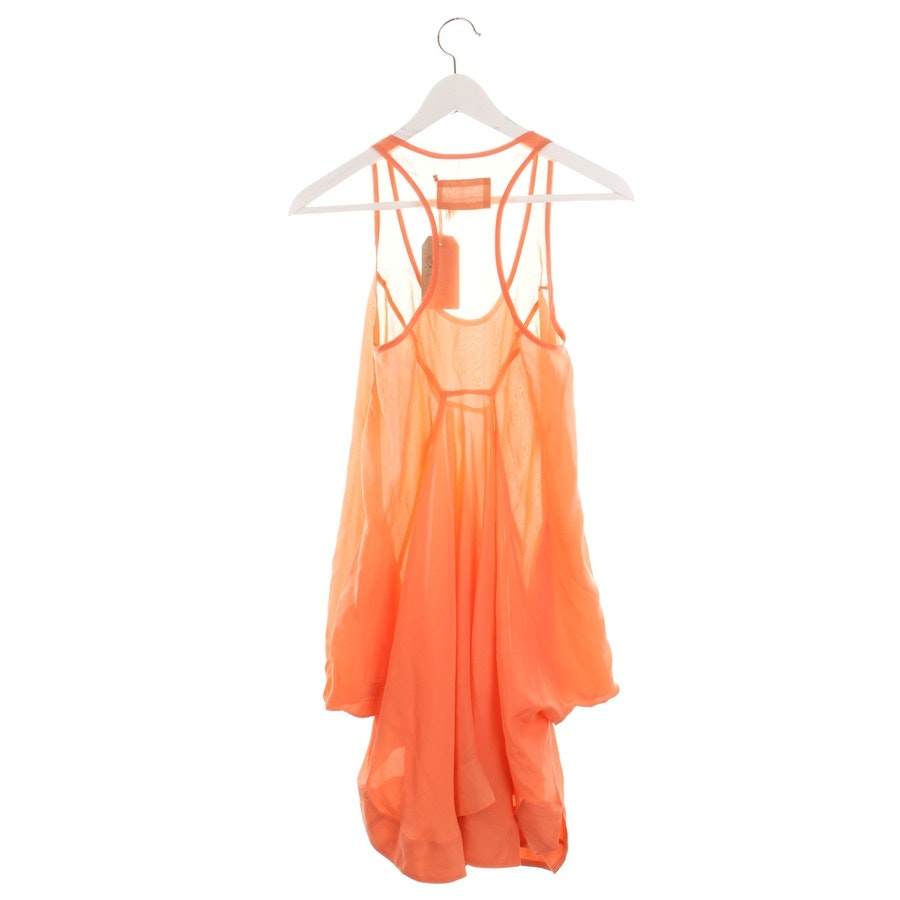 Seidenkleid von All Saints Spitalfields in Neon Orange Gr. 34 UK 8 - Neu