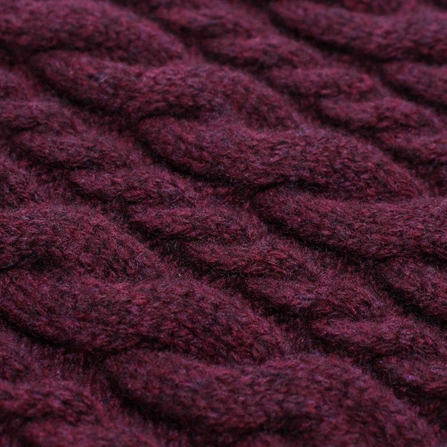 Wollpullover von Balenciaga in Rotbraun Gr. S