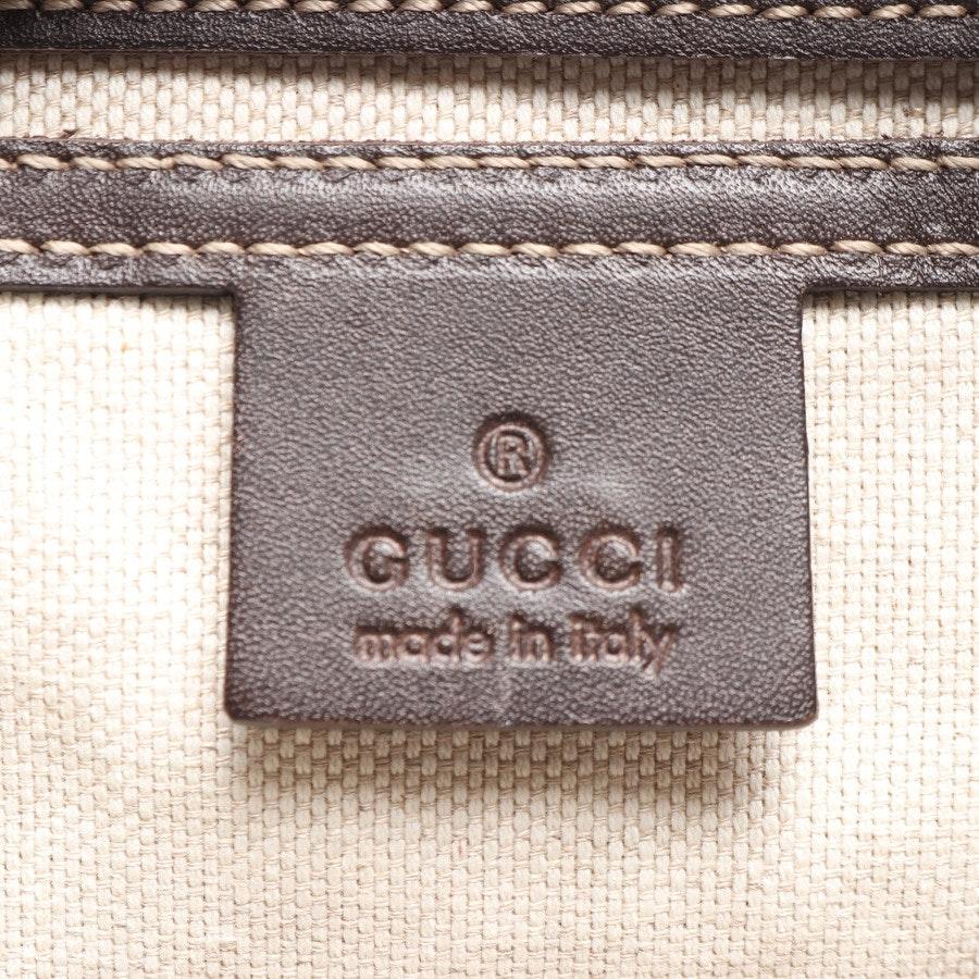 Umhängetasche von Gucci in Weiss und Braun