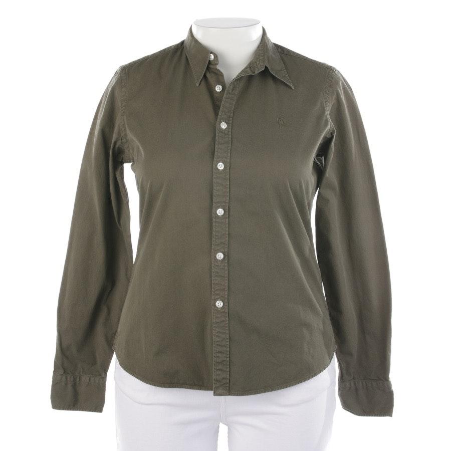 Bluse von Lauren Ralph Lauren in Khaki Gr. 42 US 12 - Skinny Fit