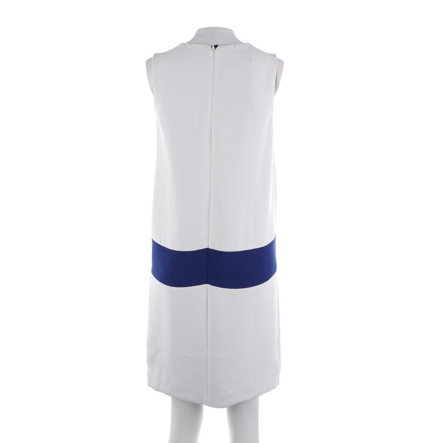 Kleid von Prada in Weiß und Königsblau Gr. 32 IT 38