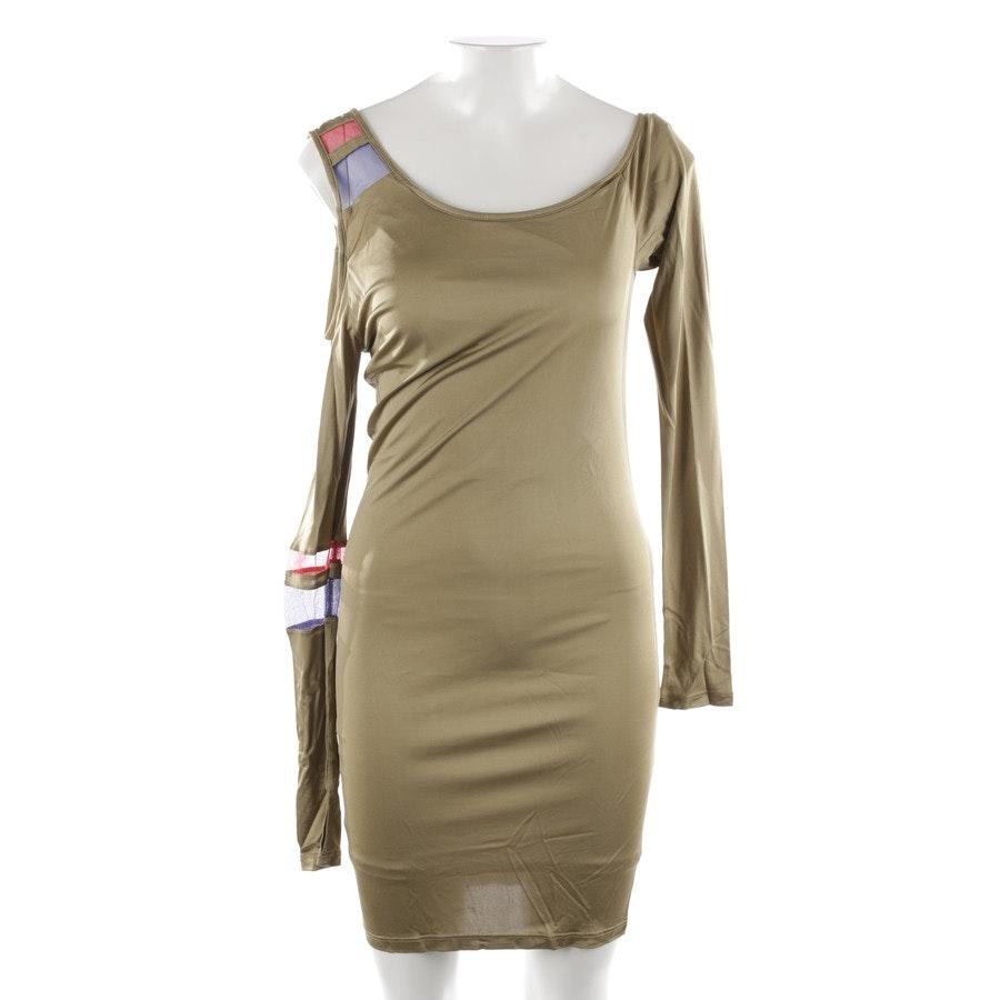Kleid von Patrizia Pepe in Olivgrün und Multicolor Gr. 36 / 2 - Neu