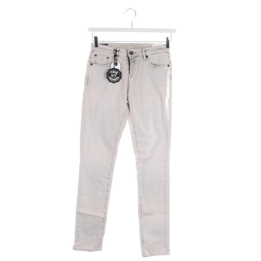Jeans von Denham in Hellgrau Gr. W24 - Point - Neu