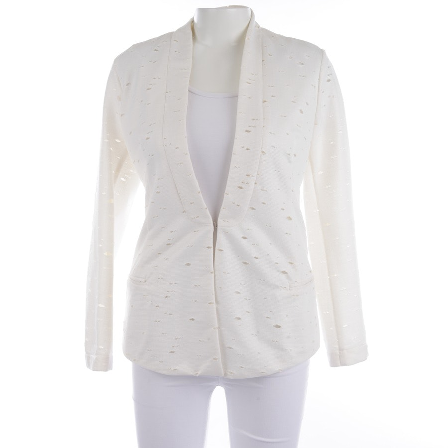 blazer from 8pm in cream size S - new - label!