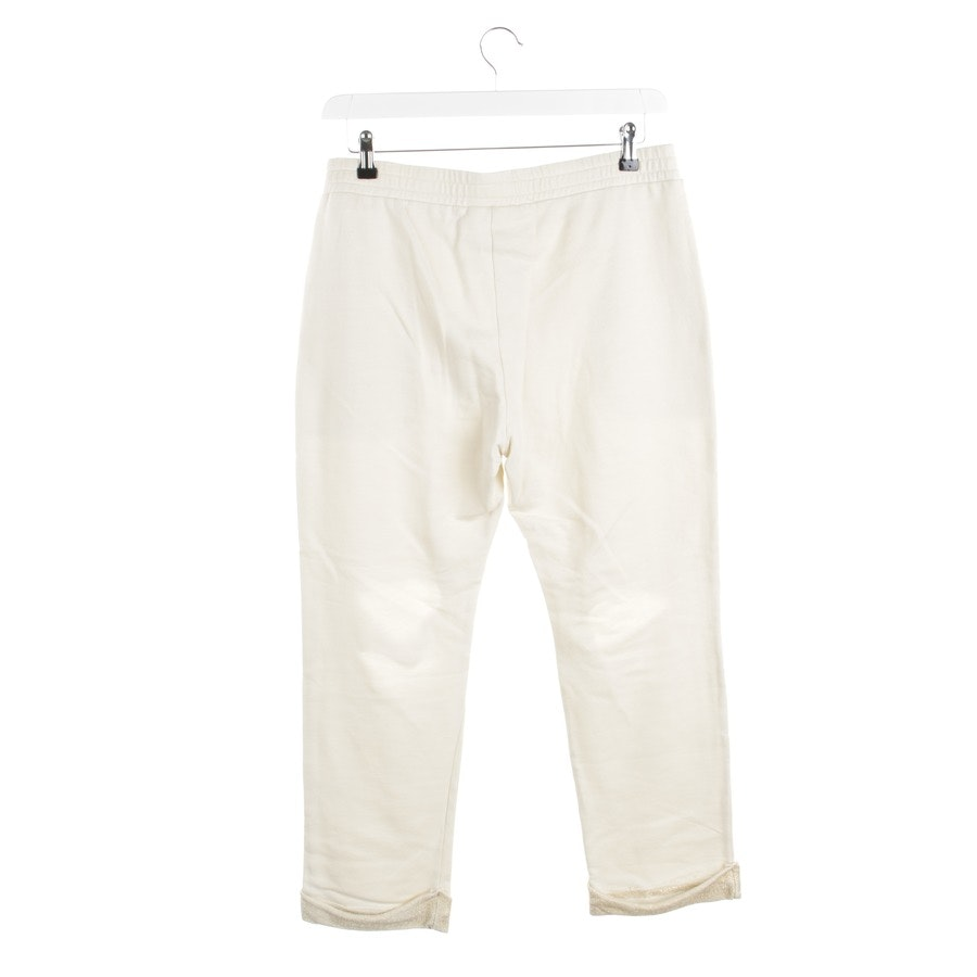 trousers from 8pm in cream size M - new-old black