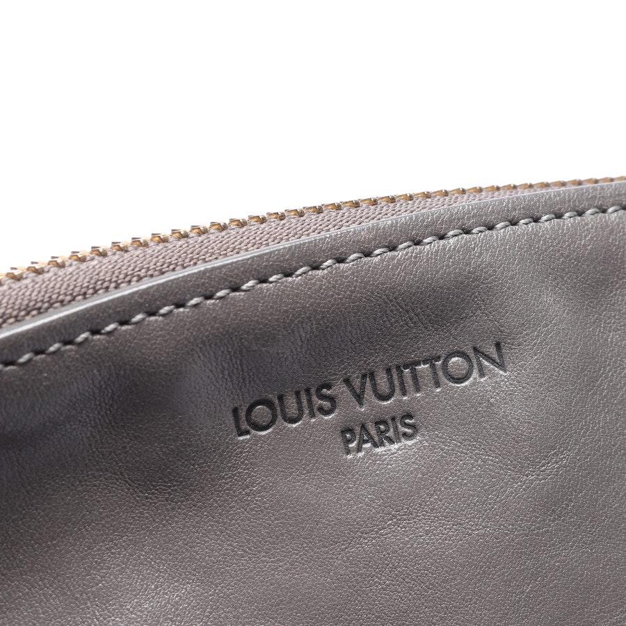Schultertasche von Louis Vuitton in Grau Chain Boudoir