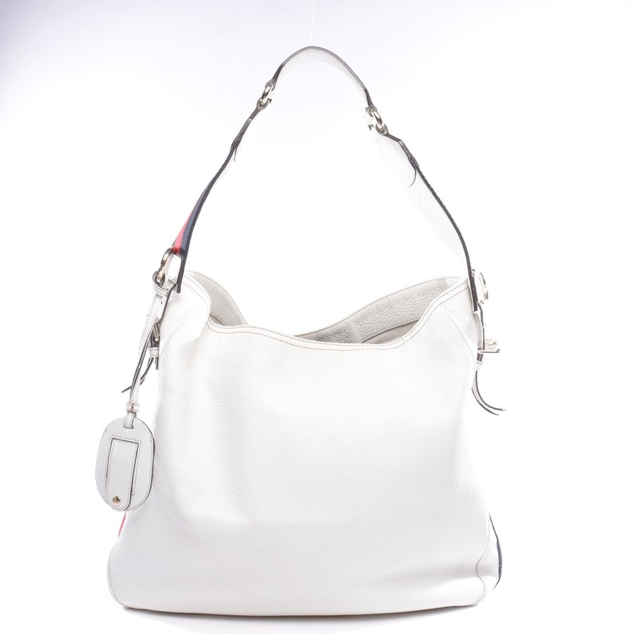 Schultertasche von Gucci in Weiß und Mehrfarbig Heritache