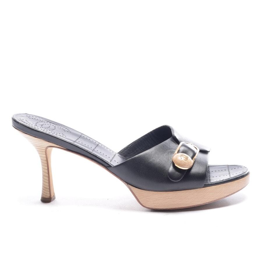 Sandaletten von Chanel in Schwarz Gr. EUR 41