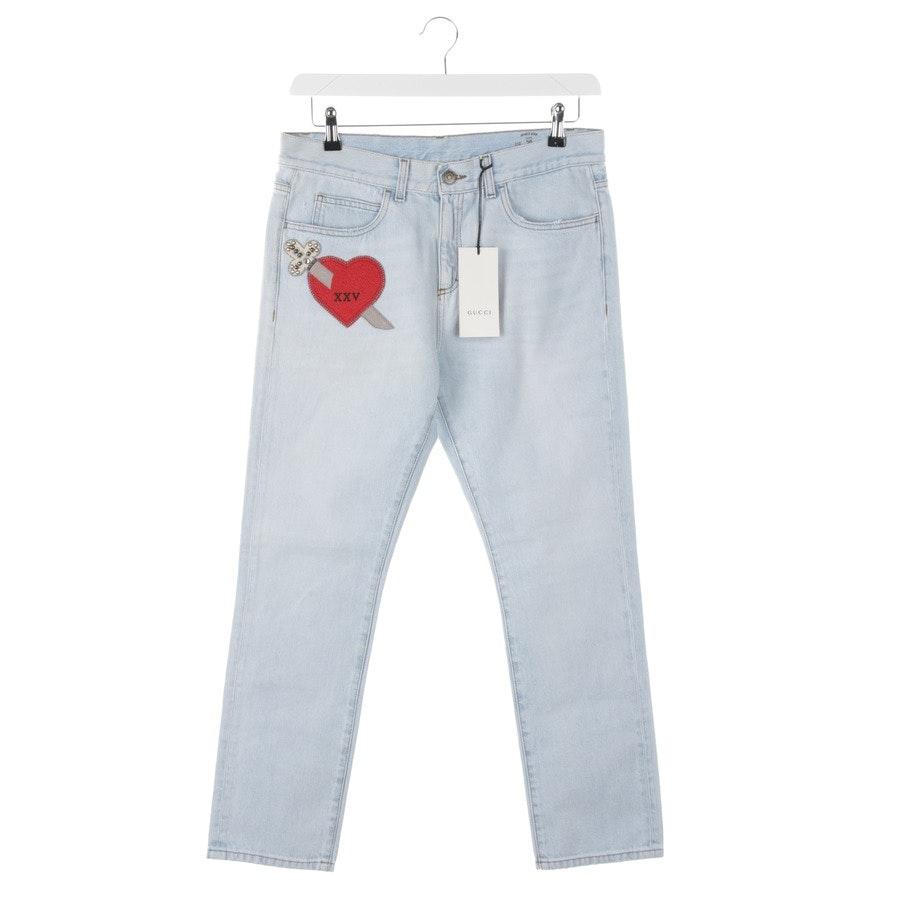 Jeans von Gucci in Himmelblau Gr. W28 Neu