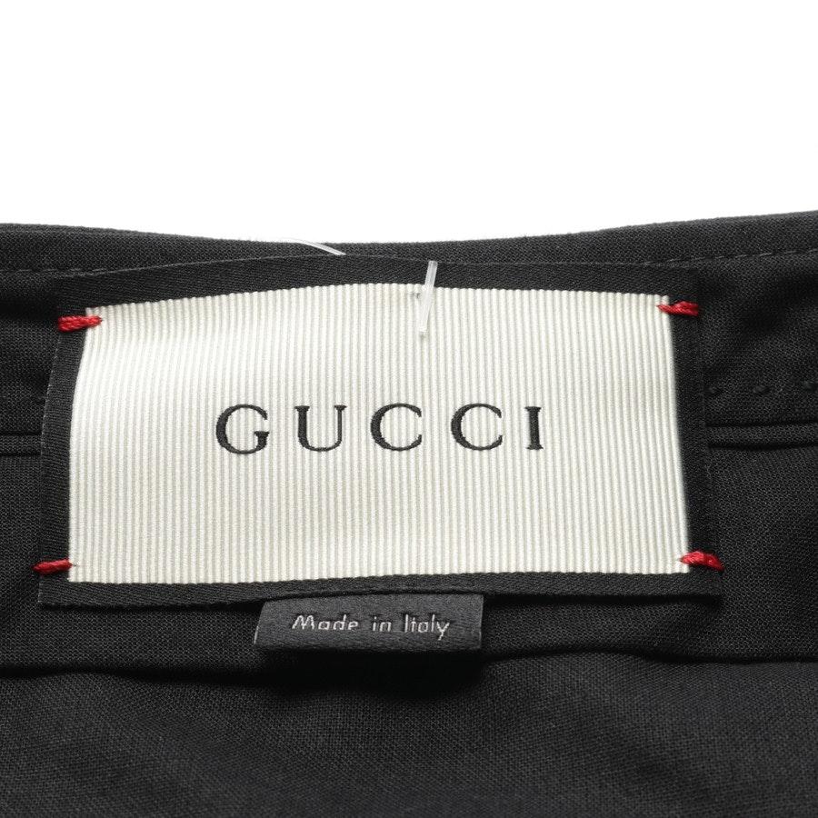 Hose von Gucci in Schwarz Gr. 38 IT 44 Neu