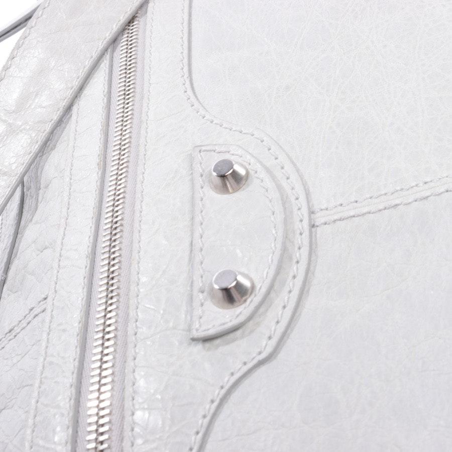 Schultertasche von Balenciaga in Hellgrau Curier Bag