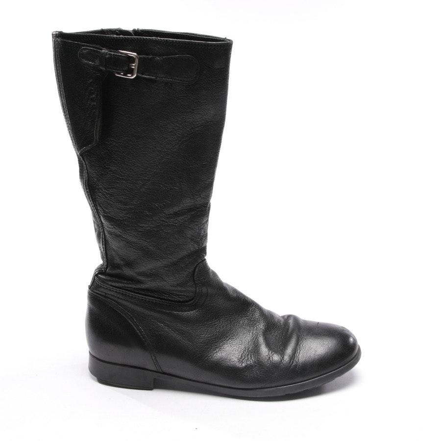 Stiefel von Prada Linea Rossa in Schwarz Gr. D 36