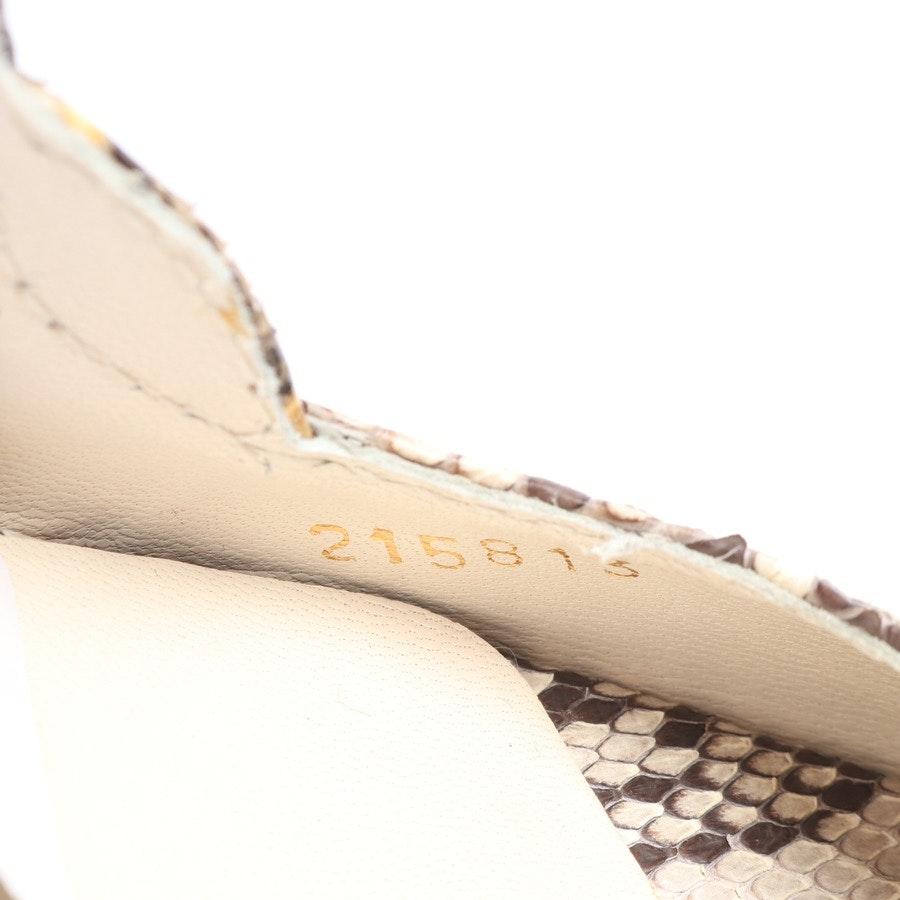 Wedges von Gucci in Braun und Grège Gr. EUR 37,5