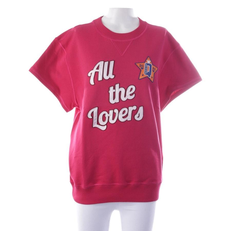 Pullover von Dolce & Gabbana in Pink und Weiß Gr. 34 IT 40
